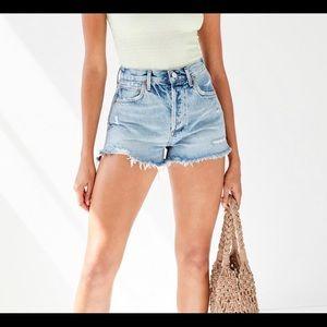 Agolde jaden jean short